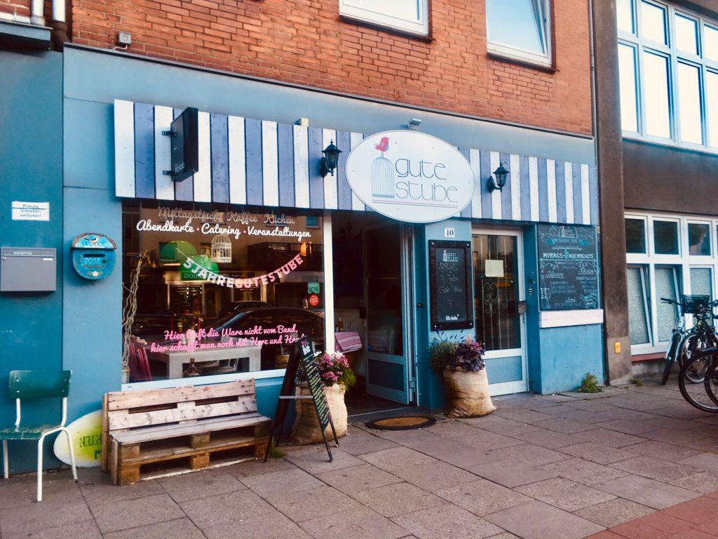 Aussenaufnahme Gute Stube - Cafes in Eilbek