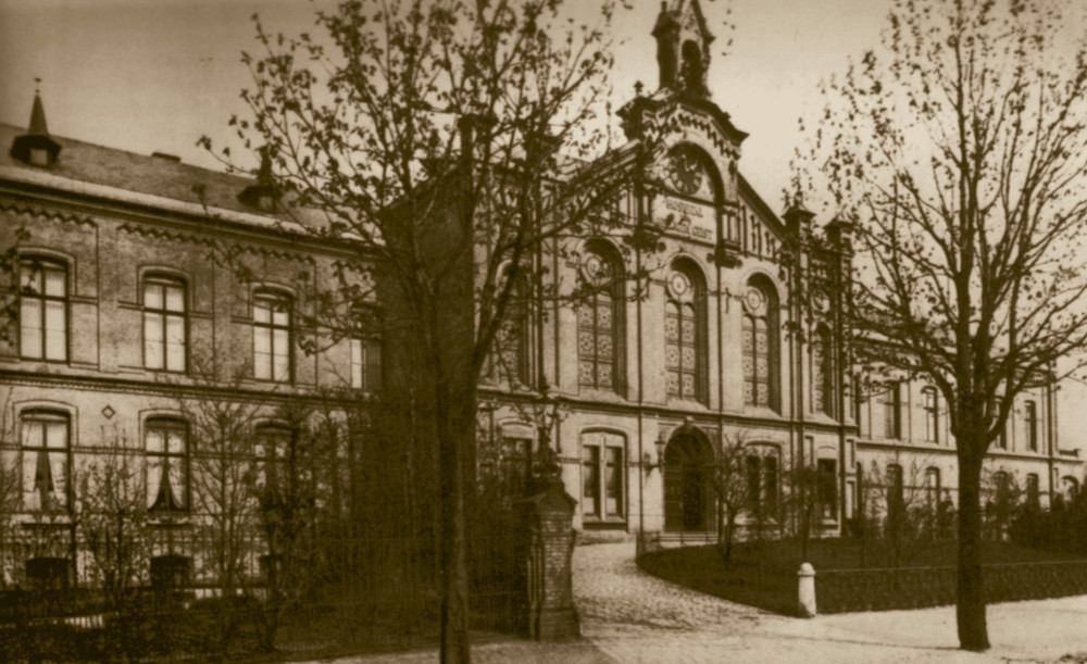 Hospital zum Heiligen Geist Eilbek um 1900
