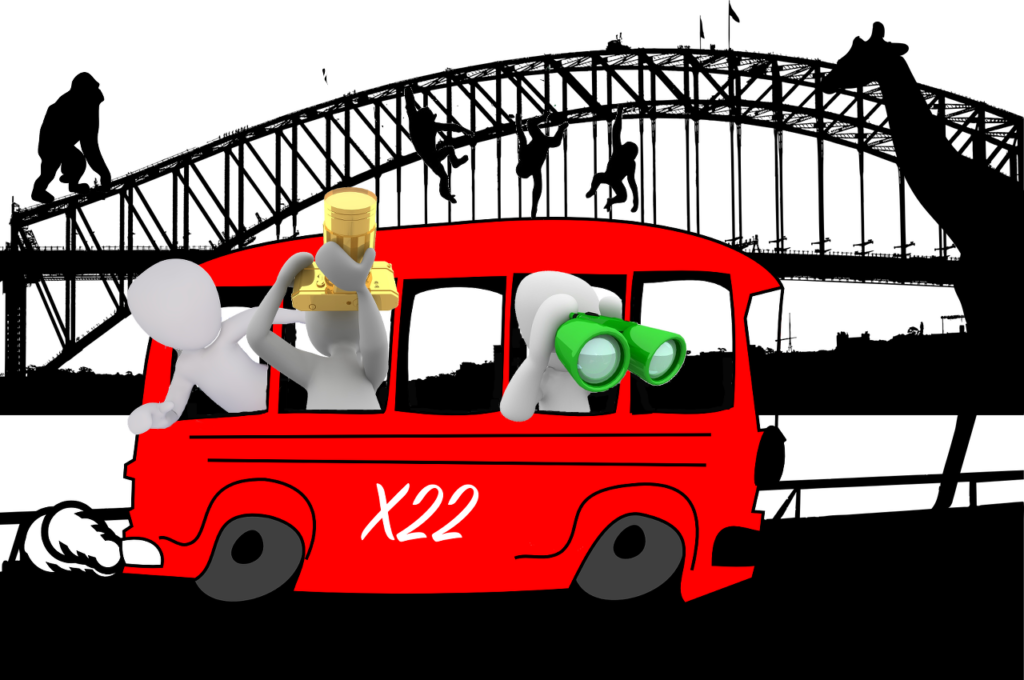 Bus X22 Ausflug