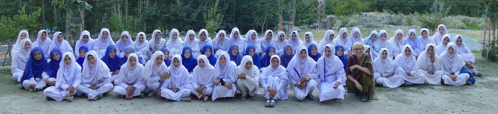 Studentinnen im Bagrot Tal